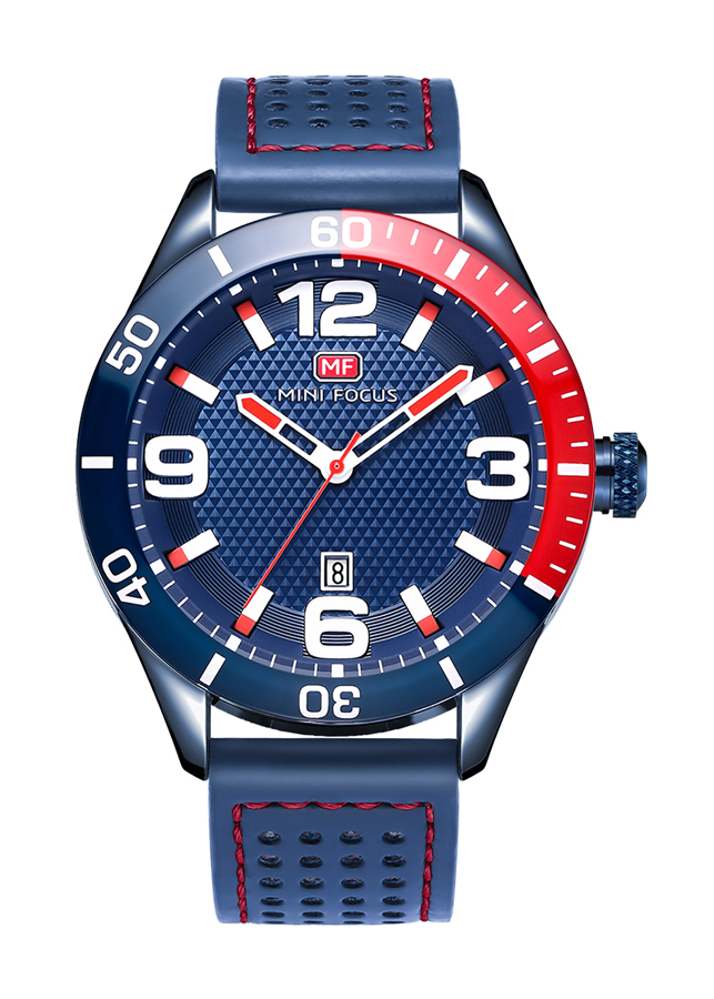 Đồng hồ nam Mini Focus  dây da cao cấp trẻ trung năng động JS-MF155