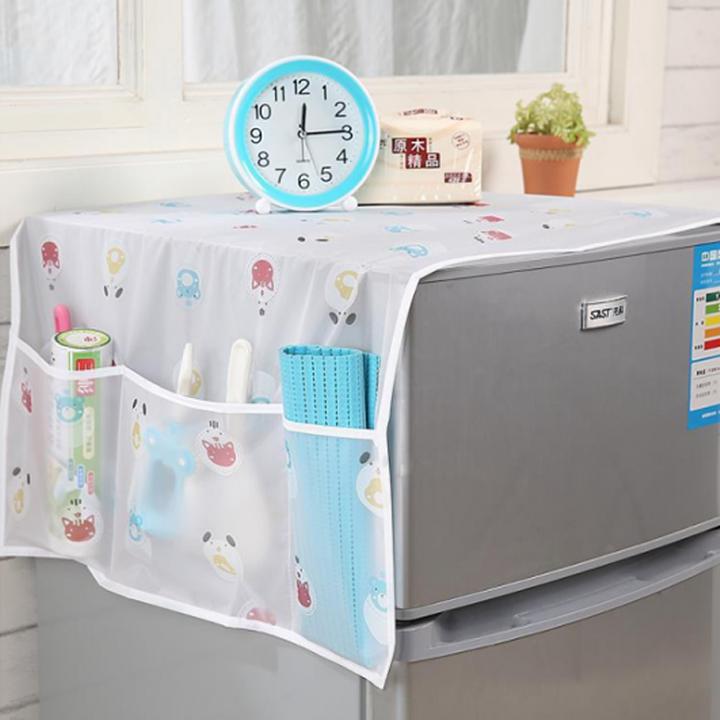 Tấm phủ tủ lạnh tiện dụng (màu ngẫu nhiên)