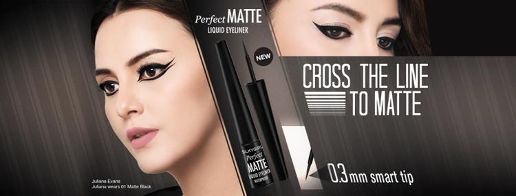 Kẻ Mắt Nước Silkygirl Perfect Matte Liqid Eyeliner GE0235-01 (2.5ml) 1