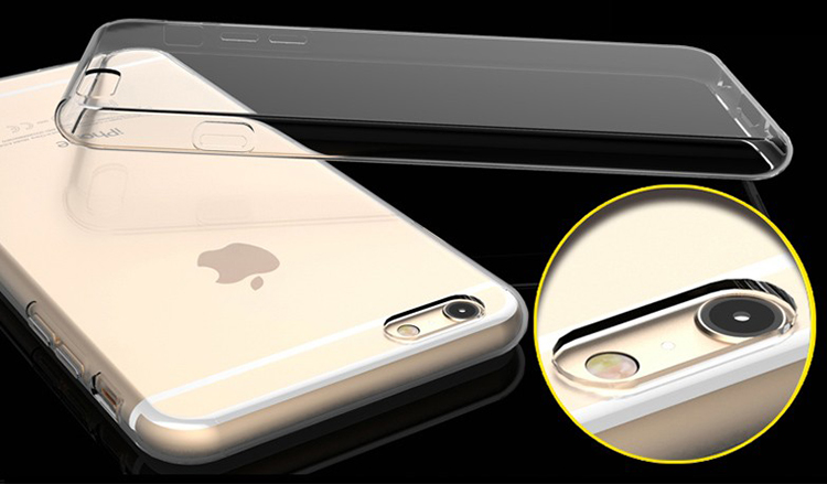 Ốp Lưng Silicon Dẻo iPhone 6 / 6S Ultra Thin 0.6mm (Trong Suốt)