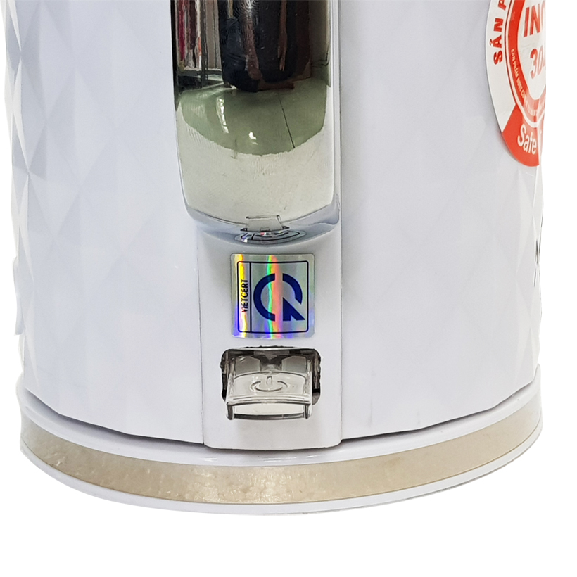 Ấm siêu tốc Inox 304 thiết kế 2 lớp Hayasa HA-392