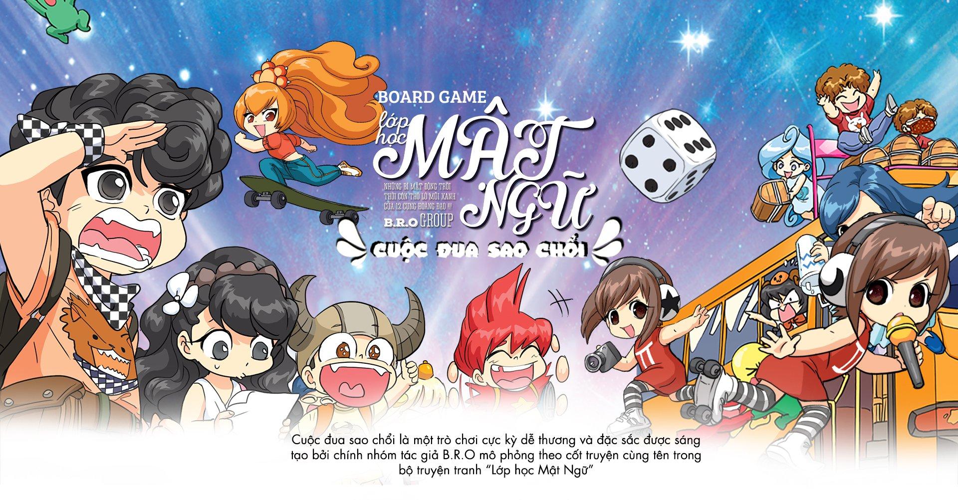Được phát hành bởi BoardgameVN và Review bởi Time Sun See Studio, Toy  Station, Comicola.
