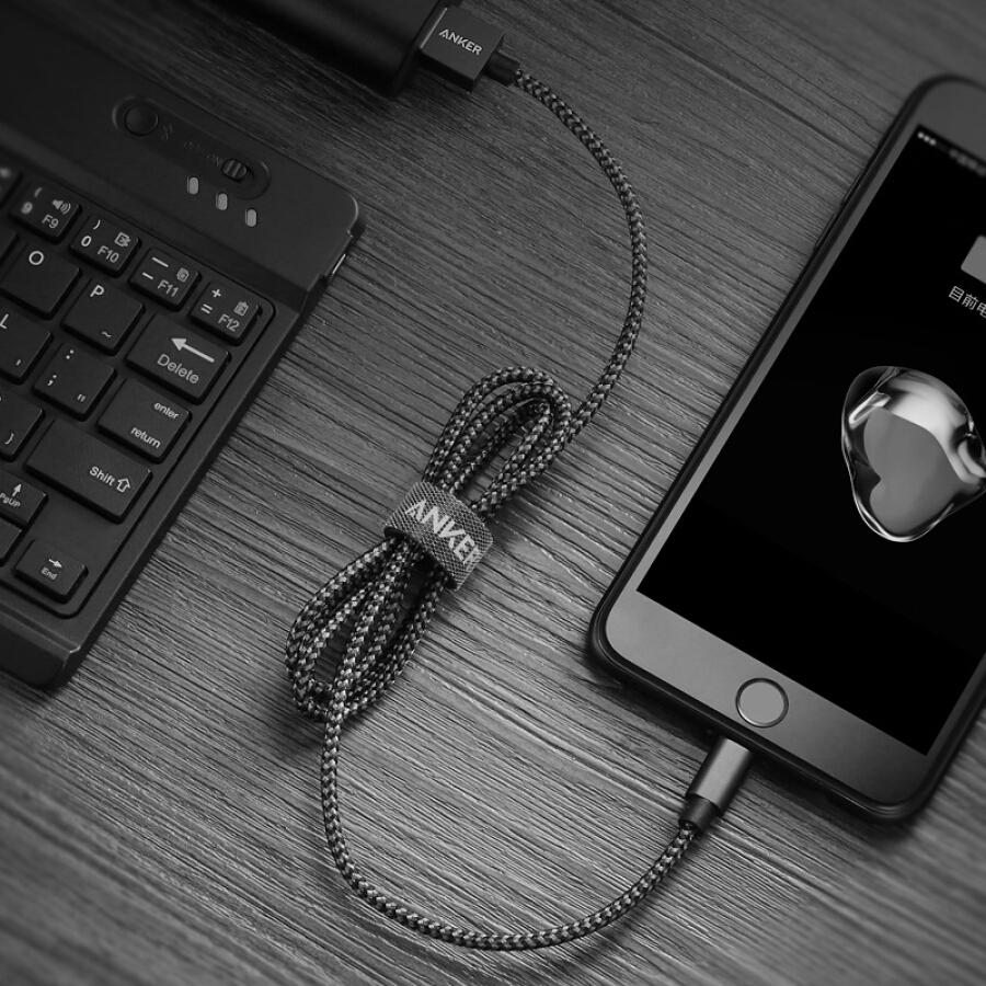 Cáp Sạc Truyền Dữ Liệu Anker Chuẩn MFi Apple Dành Cho iPhone5 / 6s / 7P / SE / ipad / airmini