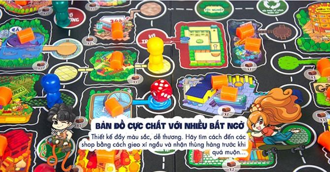 Board Game Lớp Học Mật Ngữ - Cuộc đua sao chổi (phiên bản đặt biệt có Chữ ký tác giả)