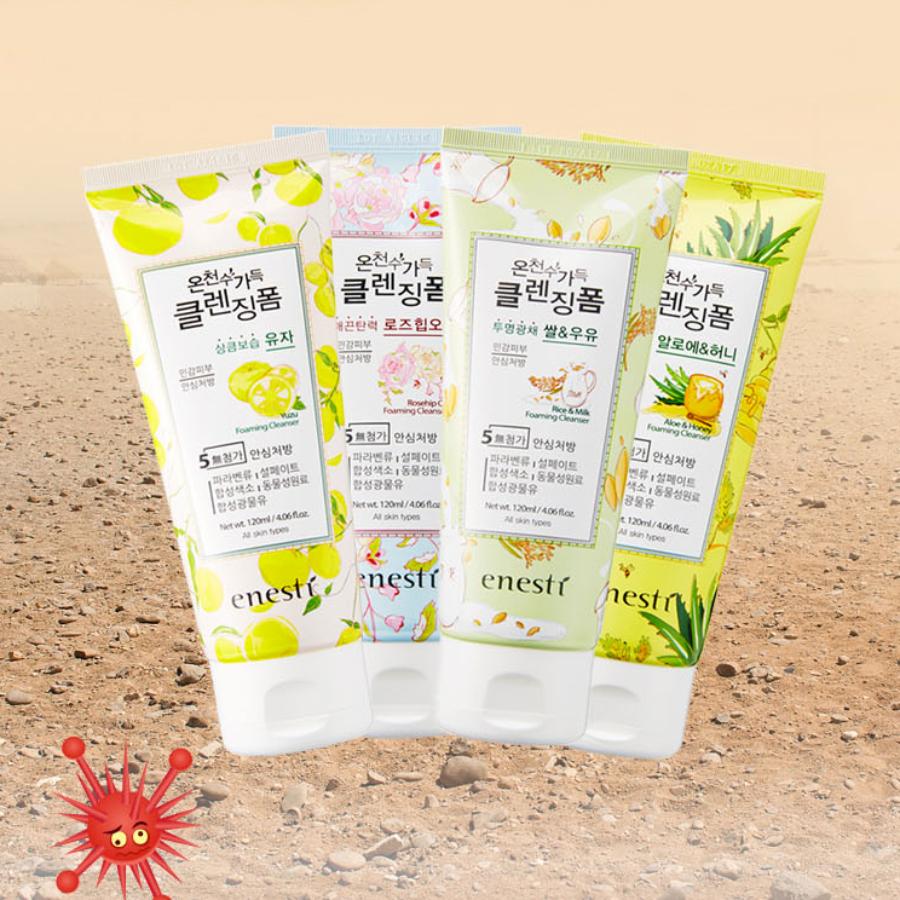 Sữa Rửa Mặt Enesti Lô Hội Và Mật Ong Suansu (120ml) 2