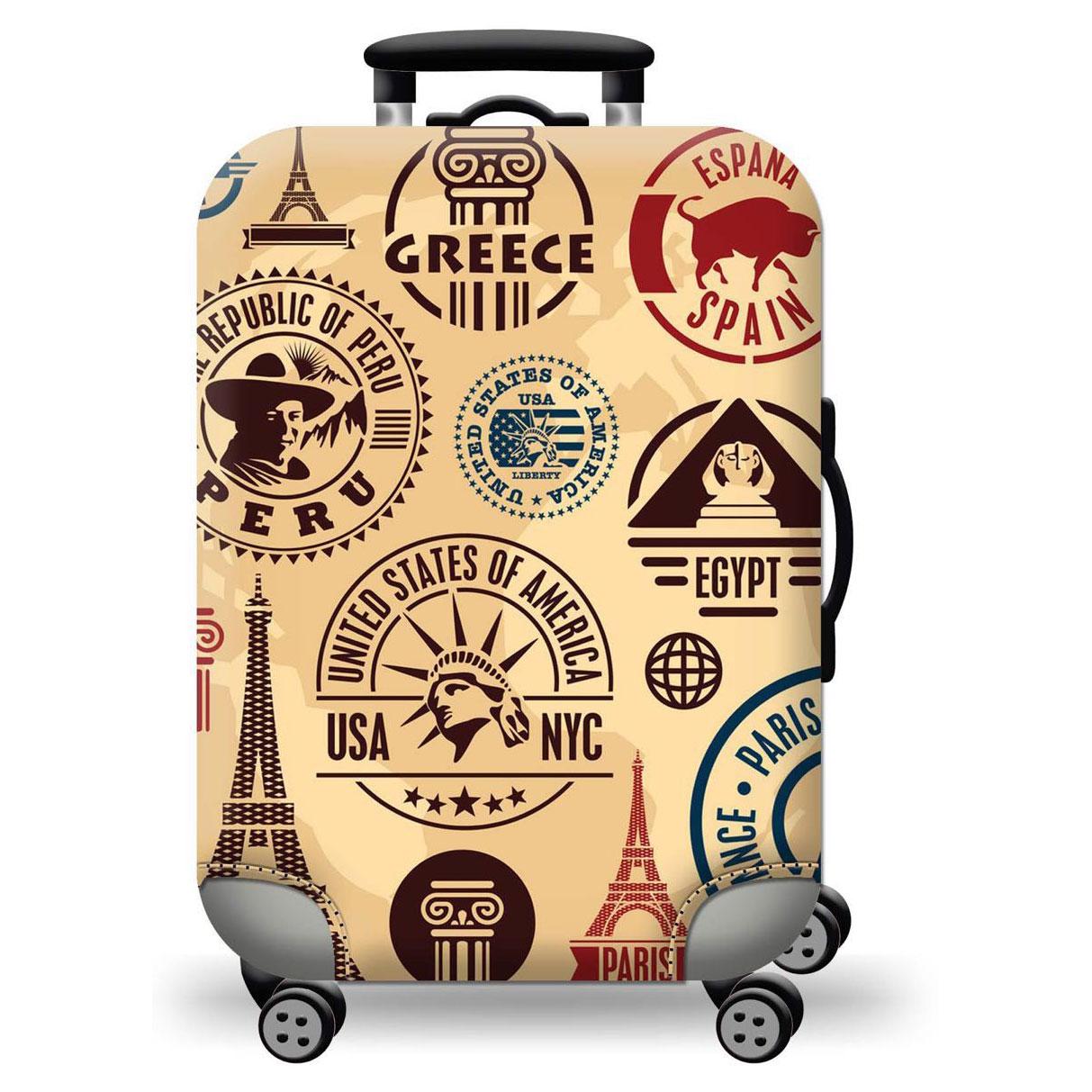 Túi bọc bảo vệ vali -Áo vỏ bọc vali -USA