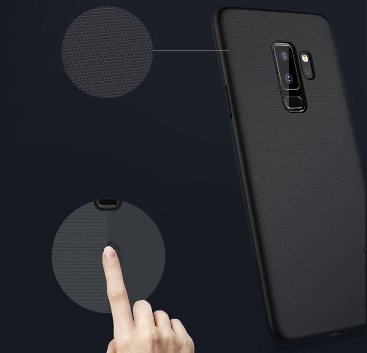 Ốp Lưng Samsung Galaxy S9 Plus Nillkin (Đen) - Hàng Chính Hãng