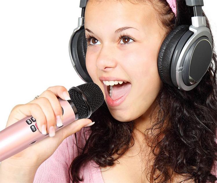 Microphone Karaoke Kèm Loa Có Ghi Âm L598 Sotate -  Hàng Nhập Khẩu