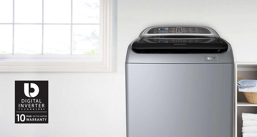 Máy Giặt Cửa Trên Inverter Samsung WA12J5750SP/SV (12kg)