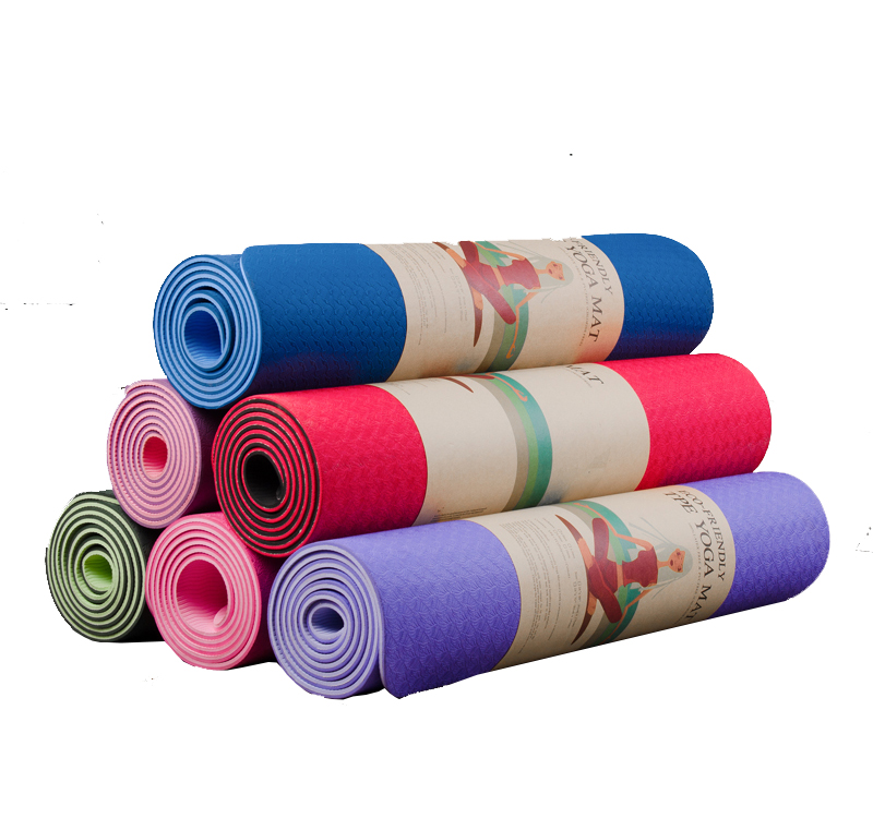 Thảm Tập Yoga Eco Friendly TPE 8mm 2 Lớp
