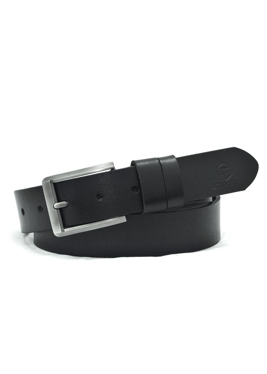 Thắt lưng da bò nam AT Leather Premium PK2 - Đen