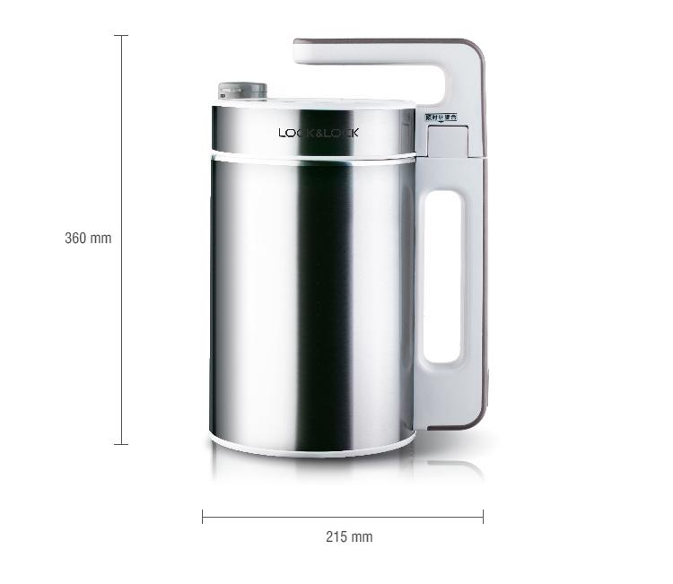 Máy Làm Sữa Đậu Nành Lock&Lock EDJJ-500 (1.5L) - Bạc