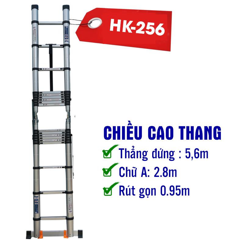 Thang Nhôm Hakawa Rút Đôi HK - 256