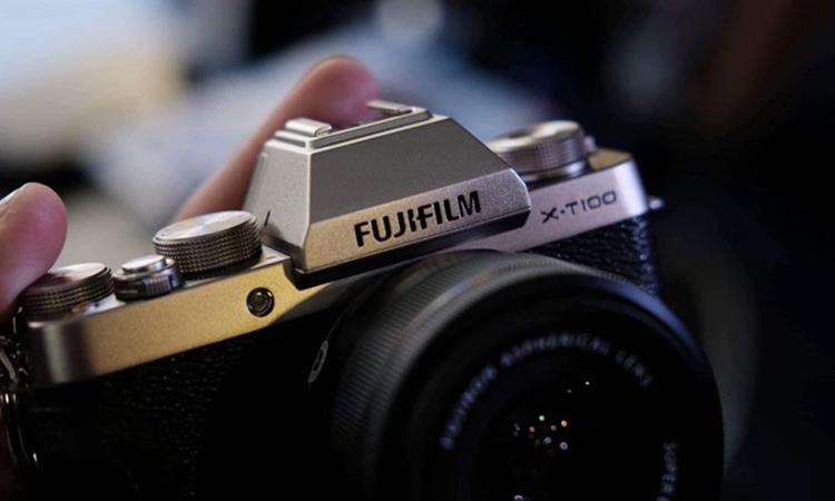 Máy Ảnh Fujifilm X-T100 Kit XC15-45mm f3.5-5.6 OIS (Vàng)