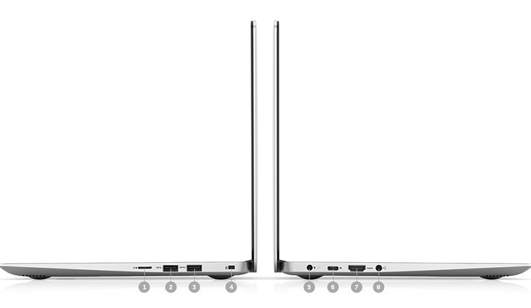 Laptop Dell Inspiron 5370 N3I3001W Core i3-7130U/Win10 (13.3 inch) (Bạc) - Hàng Chính Hãng