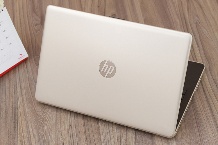 Laptop HP 15-bs647TU 3MR94PA Core i3-6006U/Win10 (15.6 inch) - Gold - Hàng Chính Hãng