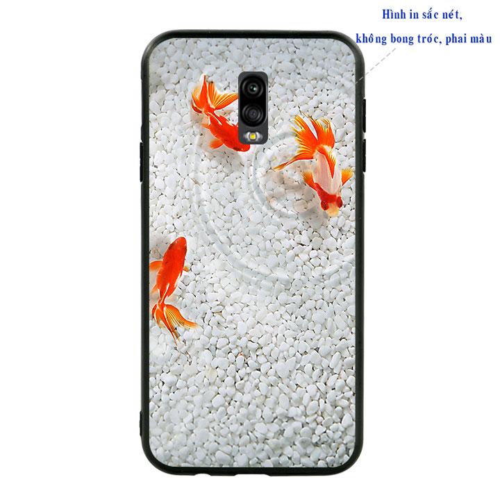 Ốp lưng viền TPU cao cấp cho Samsung Galaxy J7 Pro - Cá Koi 02
