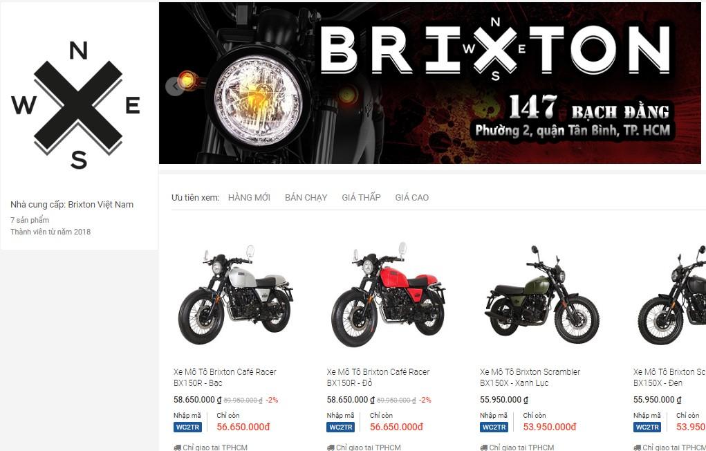 Tiki.vn trở thành đối tác phân phối online chính thức của Brixton Việt Nam