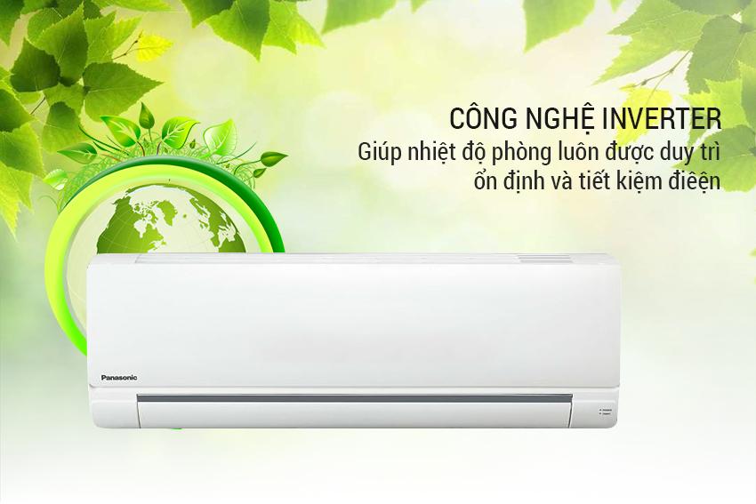 Máy Lạnh Inverter Panasonic CU/CS-PU12TKH-8 (1.5 HP)  = 10.990.000 ₫