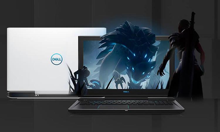Laptop Dell G7 7588 N7588F Core i7-8750H/ Dos (15.6 inch) - Đen - Hàng Chính Hãng