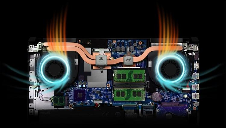 Laptop Asus TUF Gaming FX504GD-E4177T Core i5-8300H/Win10 (15.6 inch) - Đen - Hàng Chính Hãng