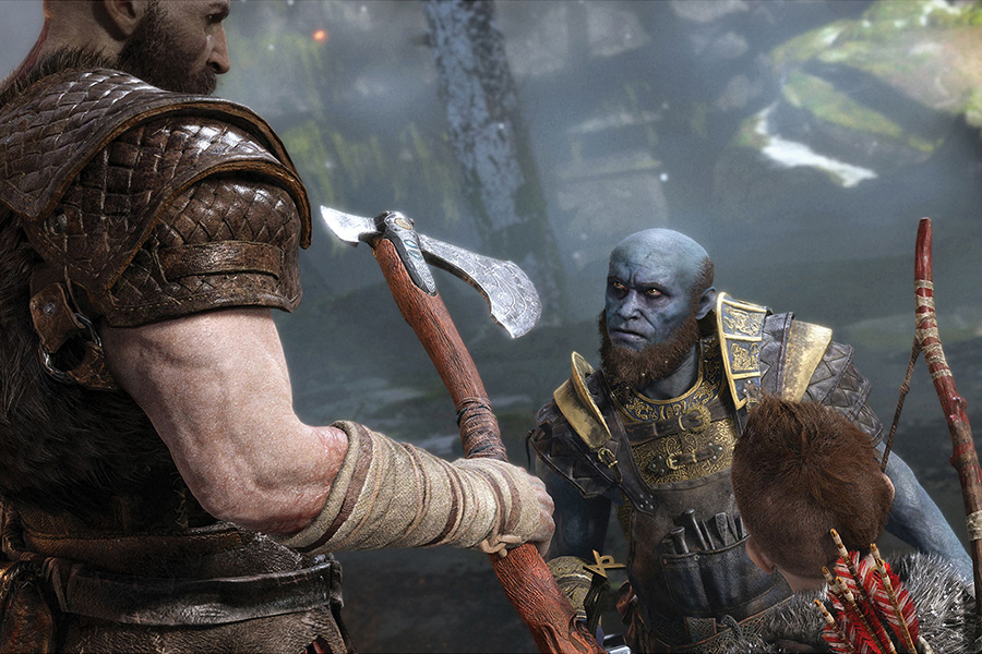 Đĩa Game PlayStation PS4 Sony God Of War 4