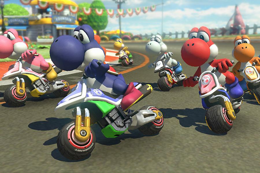 Đĩa Game Nintendo Switch Mario Kart 8 Deluxe