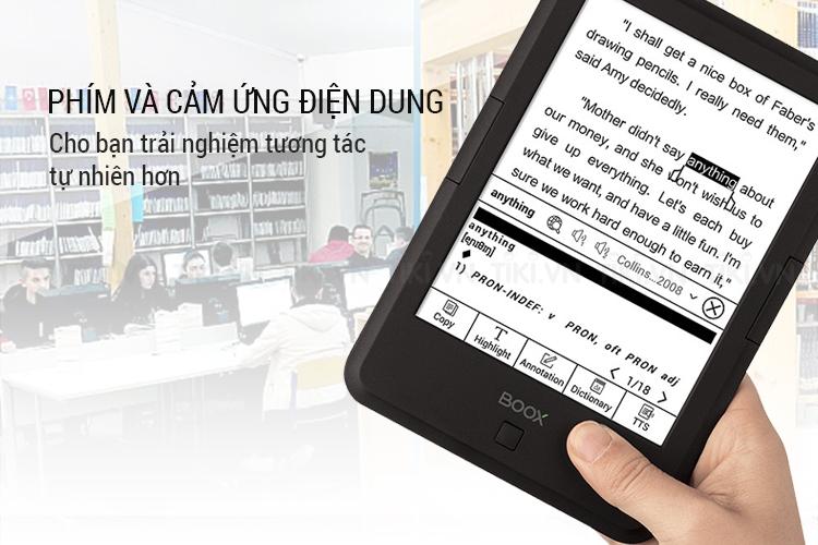 Máy Đọc Sách Onyx Boox C67ML Carta+ - Hàng Nhập Khẩu