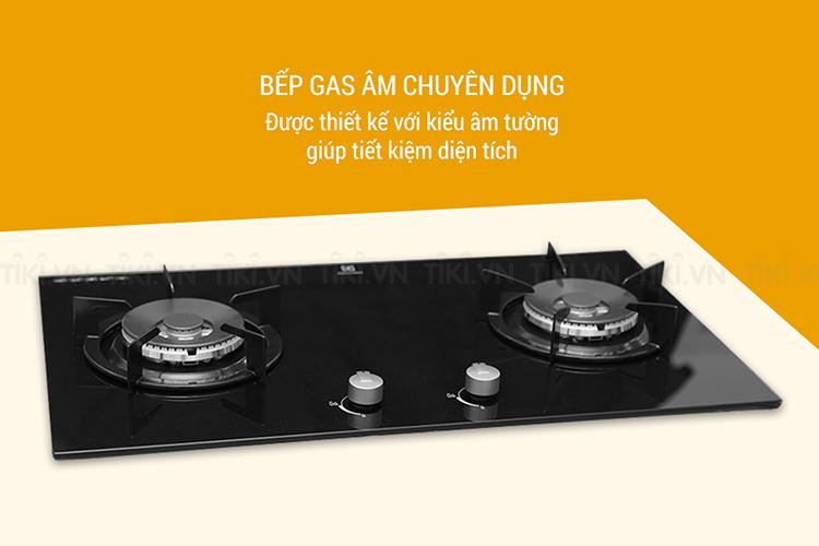 Bếp Gas Âm Electrolux EGG7627EK - Đen