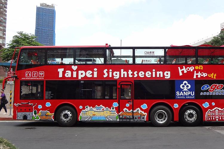 Vé 24 Tiếng Hop On Hop Off Đài Bắc (Taipei Double Decker Bus)