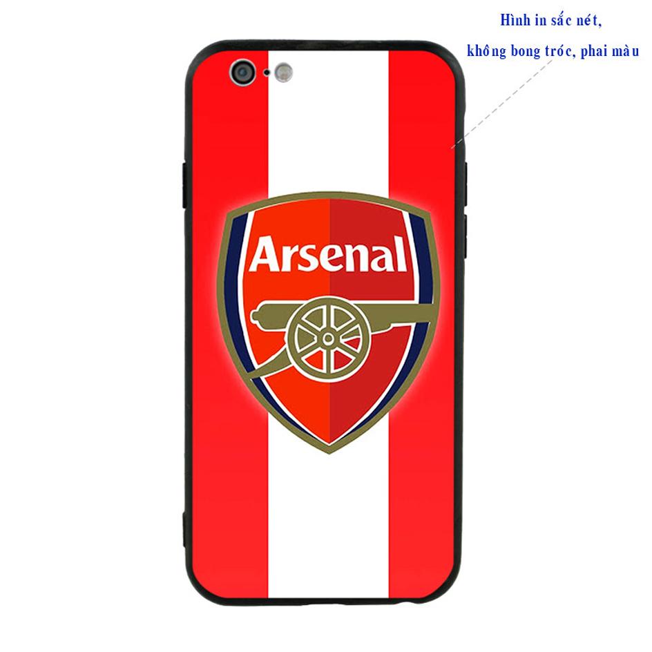 Ốp Lưng Viền TPU Cho iPhone 6 / 6S - Clb Arsenal 01