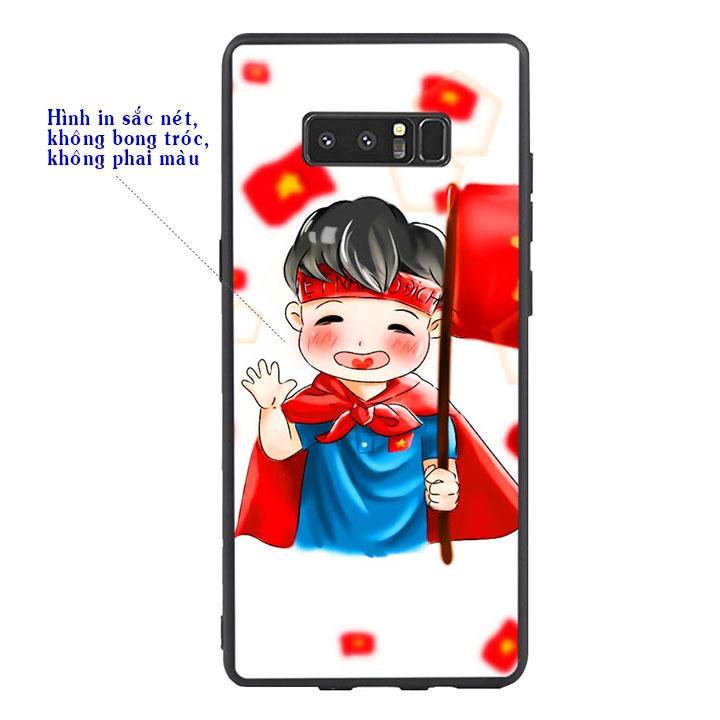 Ốp Lưng Viền TPU Cao Cấp Cho Samsung Galaxy Note 8 - U23 Mau 6