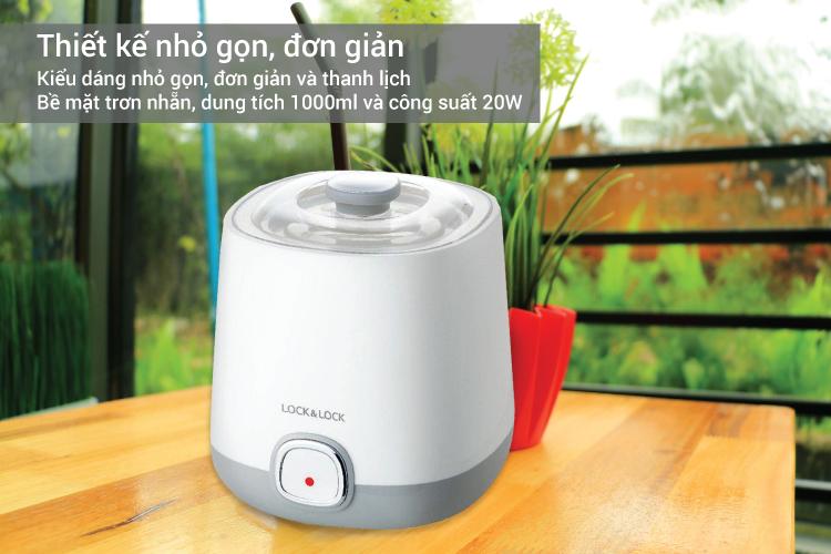 Máy Làm Sữa Chua Lock&Lock EJY110SLV (1000ml)