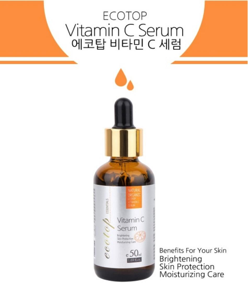 Tinh Chất Serum Chống Lão Hóa Ecotop Vitamin C 50ml