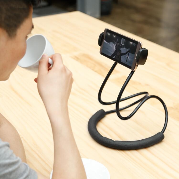 Giá Đỡ Điện Thoại Phù Hợp Cho iPhone Samsung Huawei Máy Tính Bảng Baseus - Đen