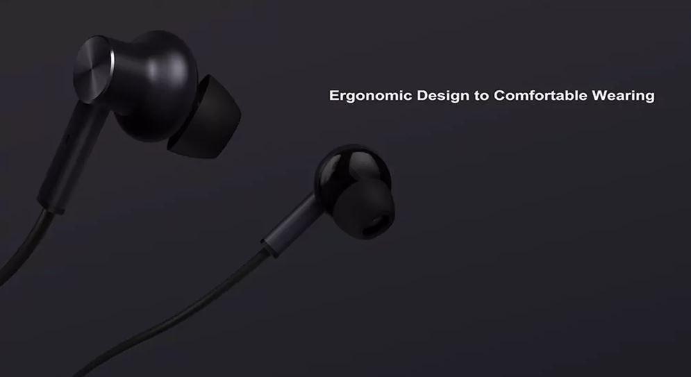 Tai Nghe Nhét Tai Xiaomi Mi ANC & 3.5mm In-Ear Earphones ZBW4383TY (Black) - Hàng Chính Hãng