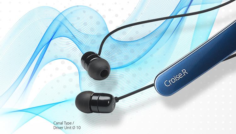 Tai Nghe Bluetooth Nhét Tai Partron Croise.R PBH-200 - Hàng Chính Hãng