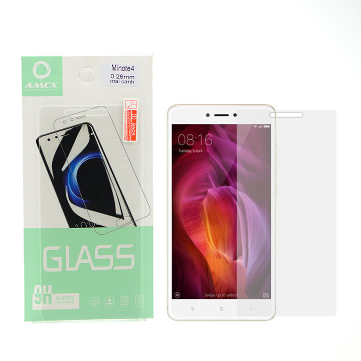 Kính Cường Lực Cho Điện Thoại Xiaomi Redmi Note 4