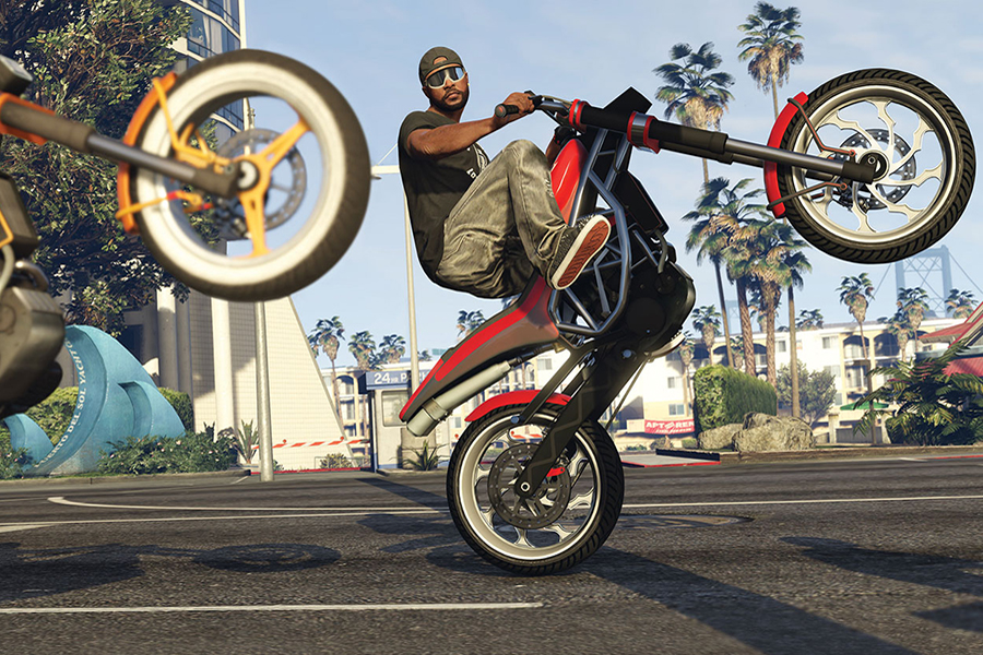 Đĩa Game PlayStation PS4 Sony GTA Grand Theft Auto V Hệ US