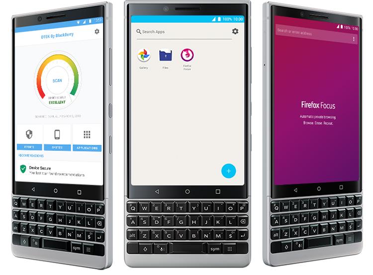 Điện Thoại Blackberry KEY2 - Hàng Chính Hãng