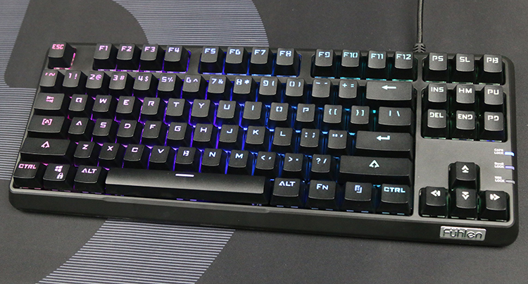 Bàn Phím Game Có Dây Fuhlen M87S RGB - Hàng Chính Hãng
