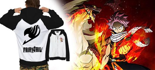 Áo Khoác Fairy Tail Anime
