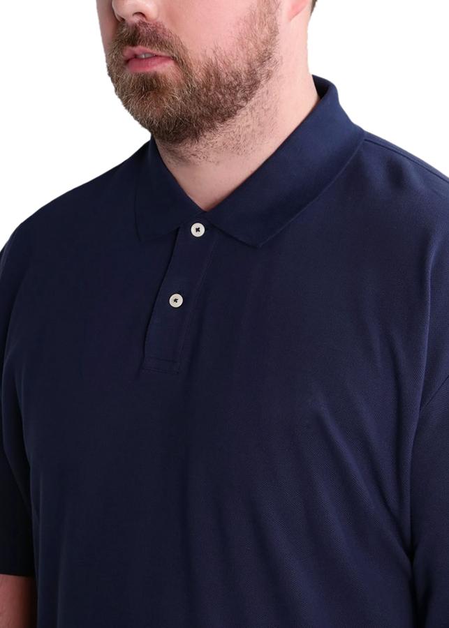 Combo 3 Áo thun nam PiGo big size trên 80kg chất mát cao cấp PB01 (xanh đen, Trắng, xám)