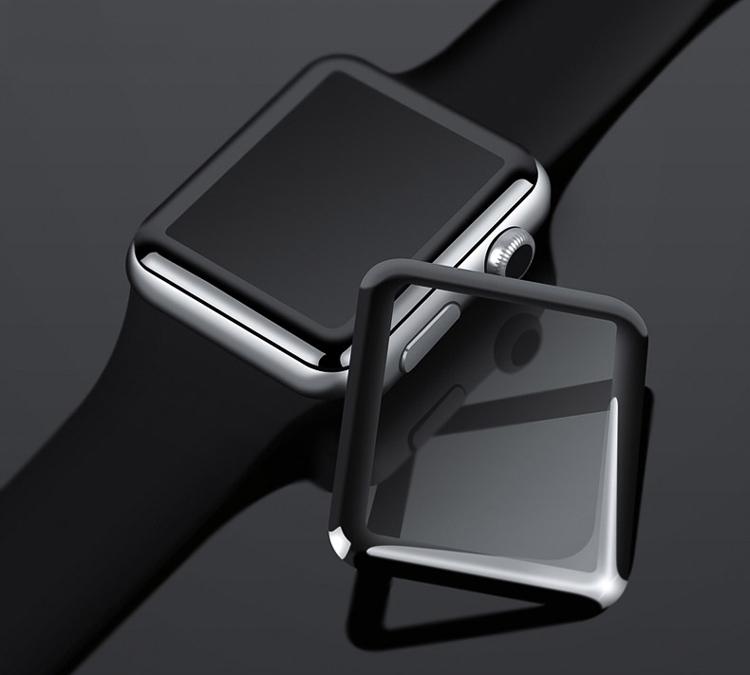 Miếng Dán Cường Lực 3D Cho Apple iWatch / Apple Watch 38 mm - Hàng Chính Hãng