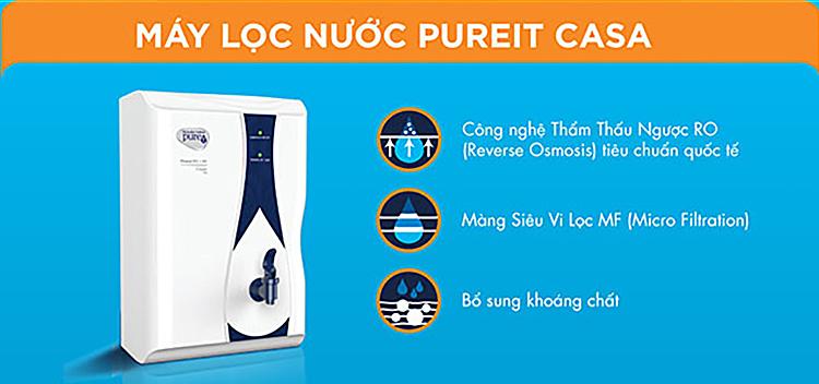 Máy Lọc Nước Unilever Pureit Casa Classic RO + MF 67348279 1