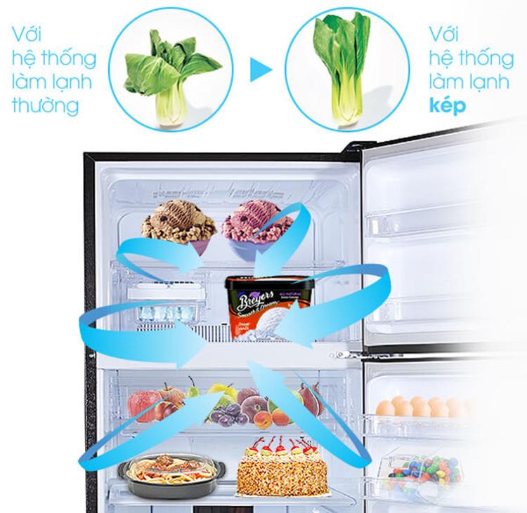 Tủ Lạnh Inverter Sharp SJ-XP595PG (556L)