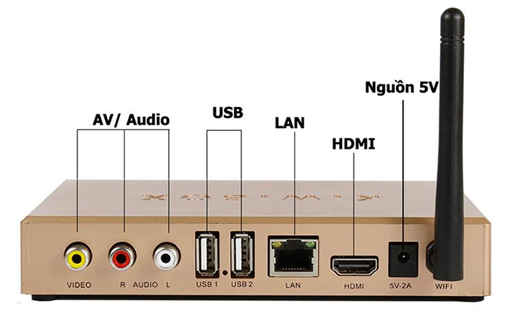 Android Tivi Box Kiwibox S1 New