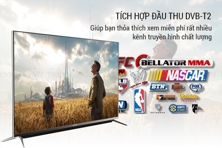 Smart Tivi Skyworth 49 inch 4K UHD 49G6A1T3VN