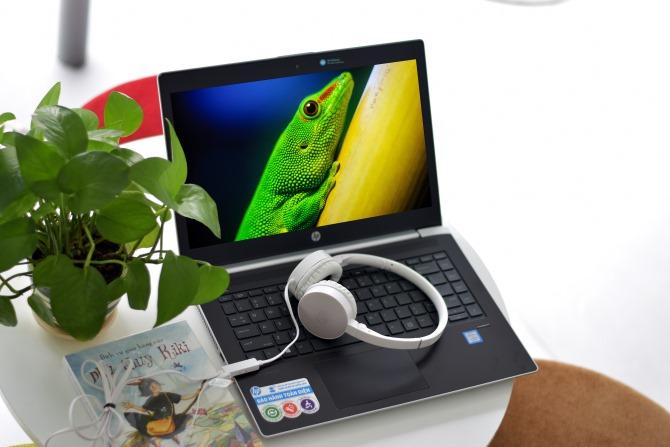 Laptop HP Probook 440 G5 2XR69PA Core i7-8550U/Free Dos (14 inch) - Hàng Chính Hãng - Silver