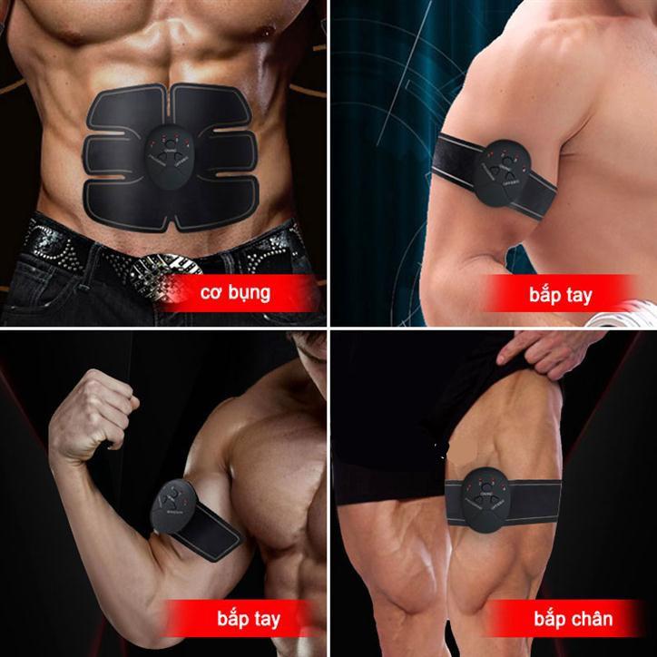 Máy tập cơ bụng massage xung điện EMS Body tập cơ bụng (Bộ 3 sản phẩm)